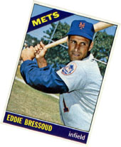 My Eddie Bressoud baseball card