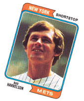 My Bud Harrelson baseball card