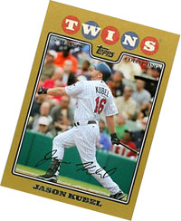 Jason Kubel baseball card
