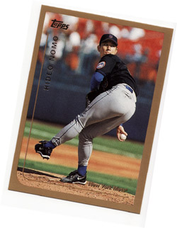 My Hideo Nomo baseball card