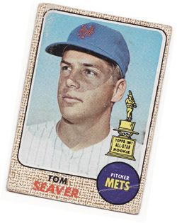 My Tom Seaver baseball card