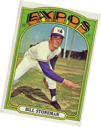 Bill Stoneman baseball card