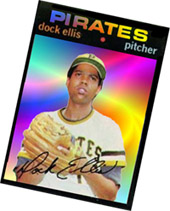 Trippy Dock Ellis card