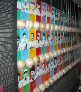 The No-Nos and Perfectos exhibit at the National Baseball Hall of Fame