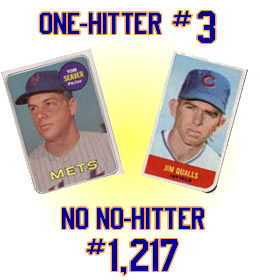 Mets one-hitter #3 - Tom Seaver
