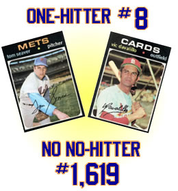 Mets one-hitter No. 8