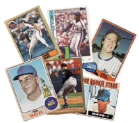 Cards of Mets who've pitched no-hitters after leaving the team